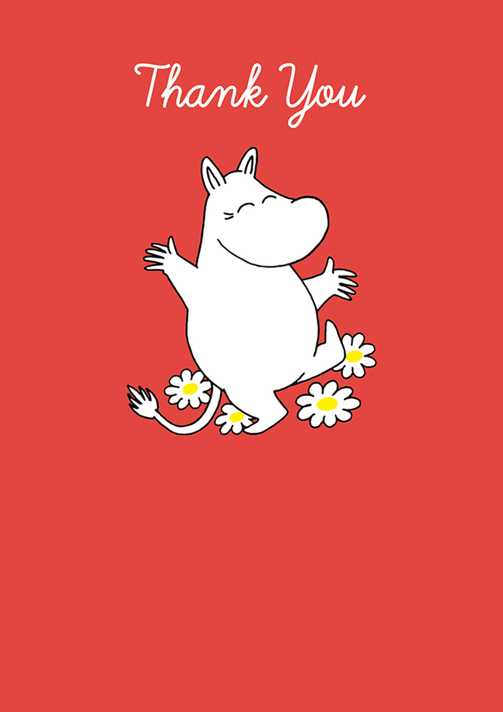 MOOMIN card - THANK YOU\MOOMINTROLL