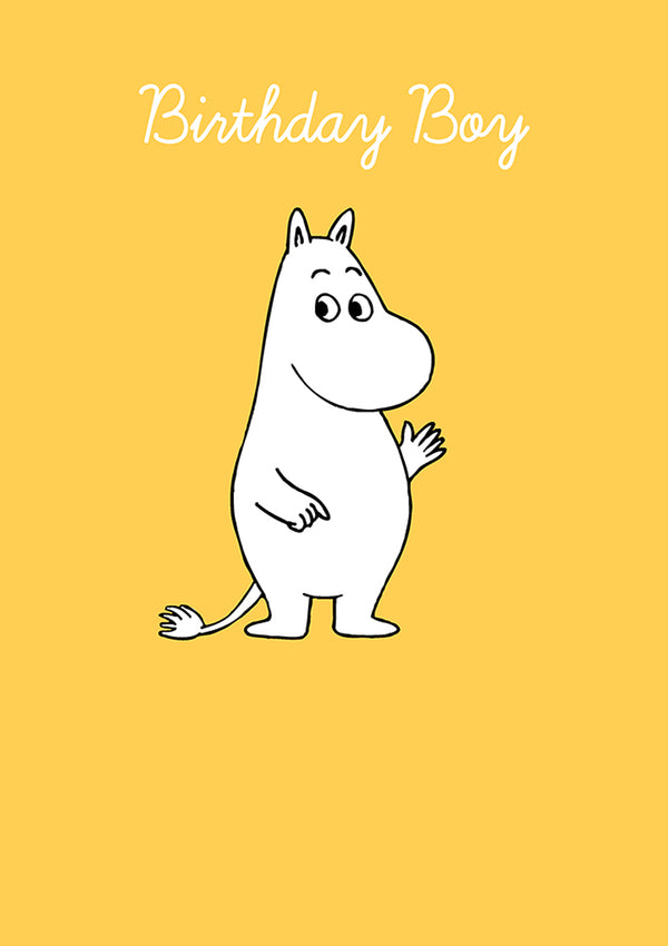 MOOMIN card - BIRTHDAY BOY