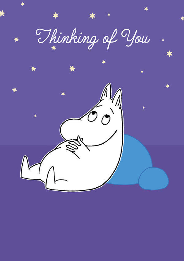 MOOMIN card - THINKING OF YOU