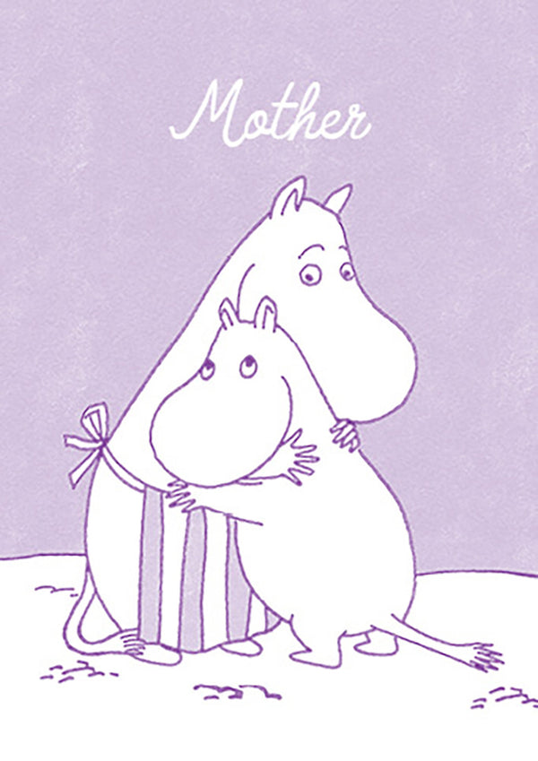 MOOMIN card - MOTHER