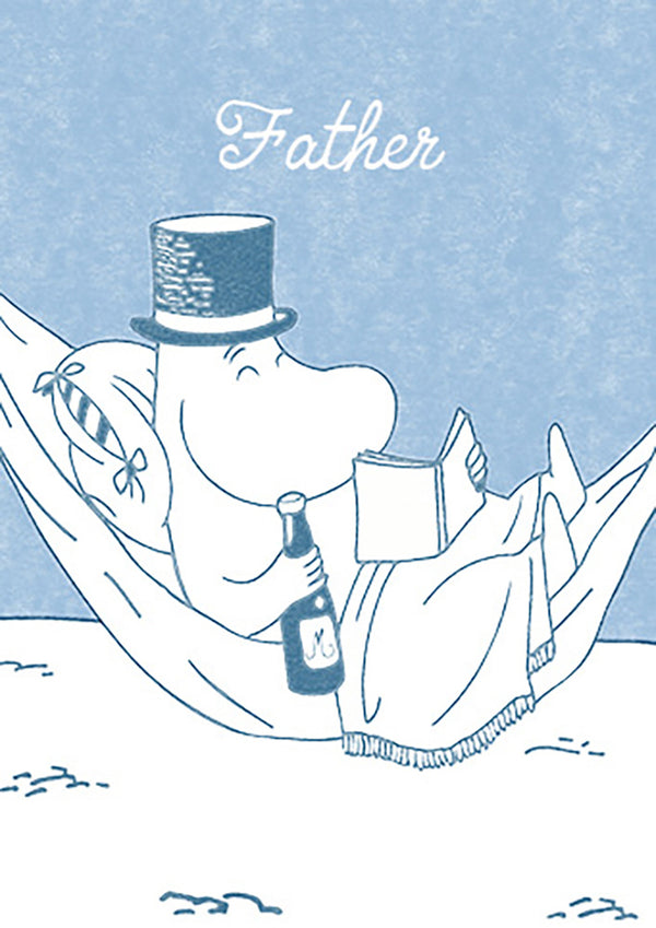 MOOMIN card - FATHER