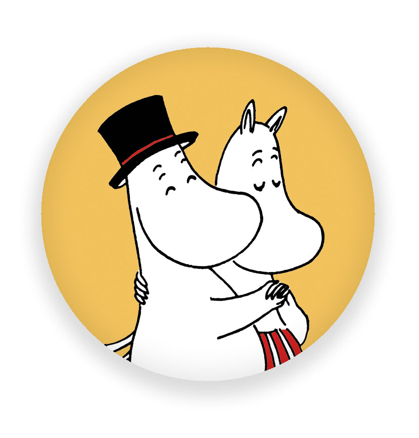 MOOMIN fridge magnet MOOMINMAMMA AND MOOMINPAPPA