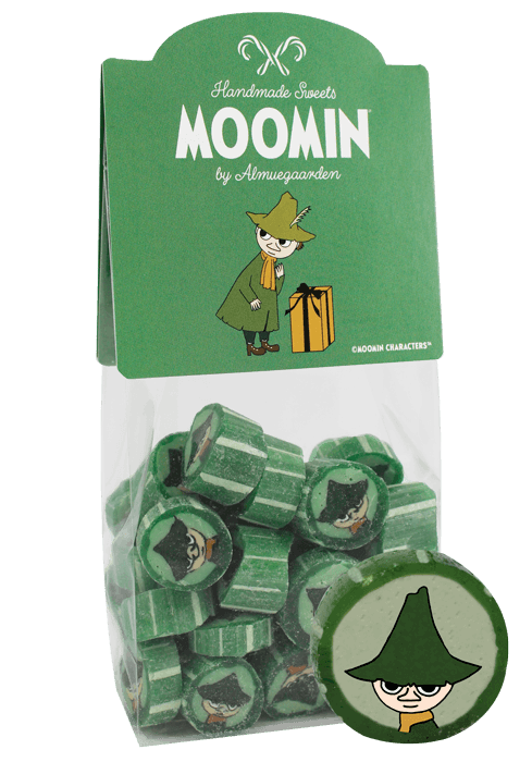 ALMUEGAARDEN MOOMIN hand made hard boiled sweets SNUFKIN