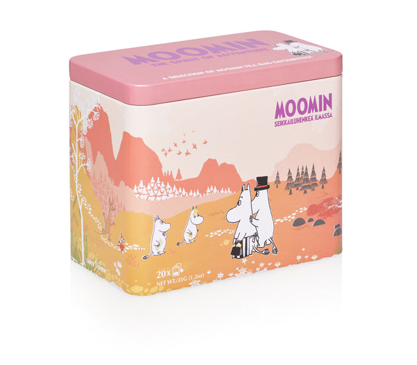 MOOMIN - THE SPIRIT OF ADVENTURE 20 tea bags assortment in a tin