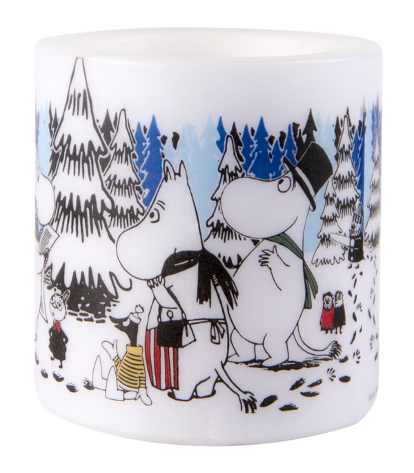 MOOMIN Muurla candle 8cm WINTER FOREST