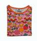 SMAFOLK organic cotton long sleeved top FLOWERS