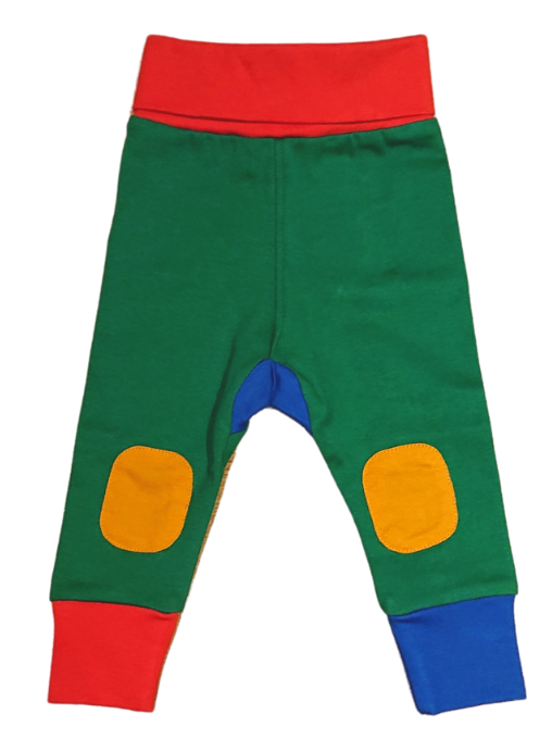 MOROMINI organic cotton baby pants RED/GREEN/BLUE