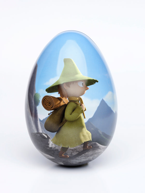 MOOMIN tin Easter egg 16cm THE WANDERER