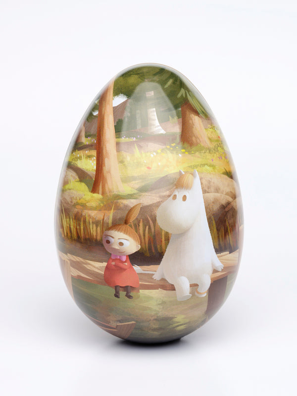 MOOMIN tin Easter egg 16cm THE PIER
