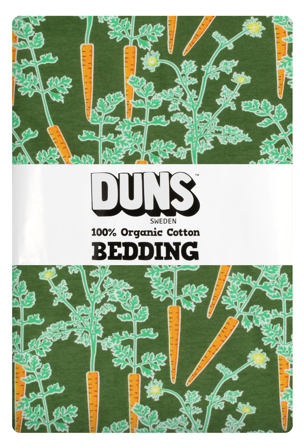 DUNS organic cotton bedding set CARROTS junior size