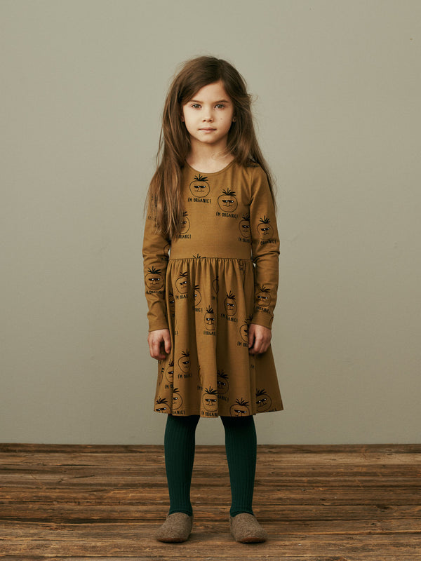 MAINIO organic cotton long sleeved dress I'M ORGANIC
