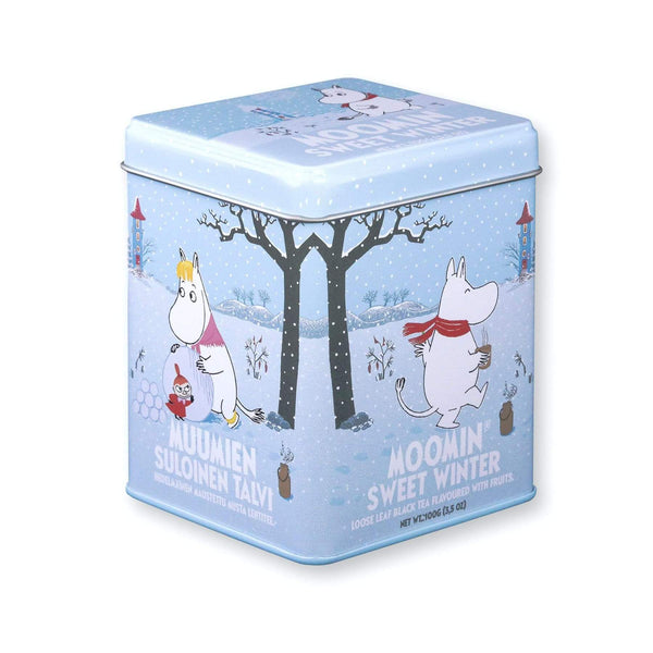 MOOMIN loose black flavoured tea tin SWEET WINTER