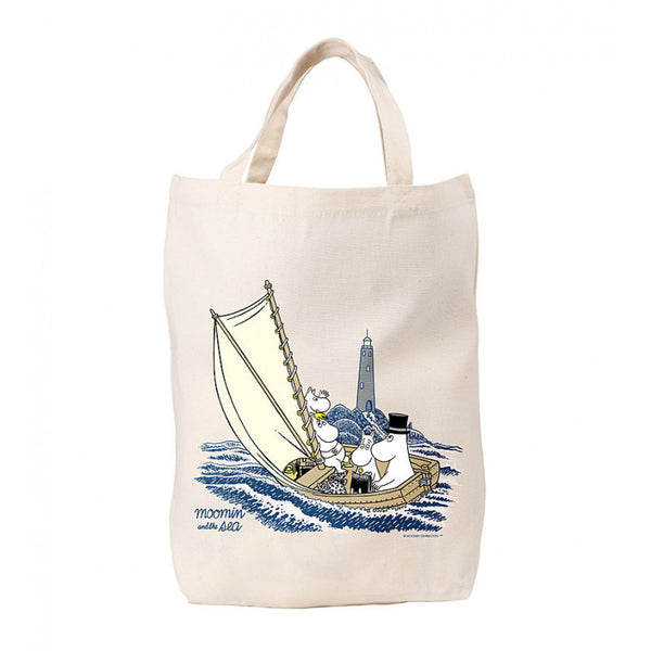 MOOMIN canvas tote bag MOOMINS and THE SEA #OURSEA