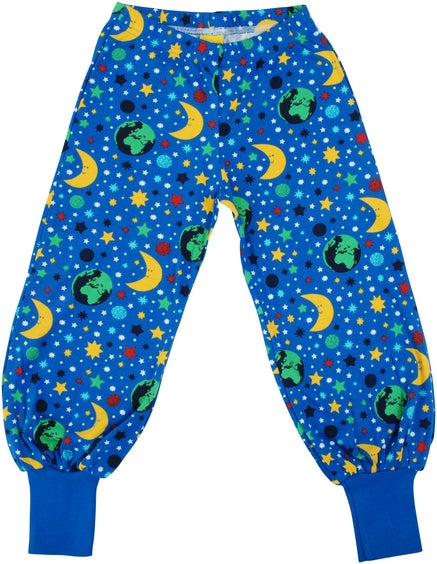 DUNS organic cotton baggy pants MOTHER EARTH - BLUE
