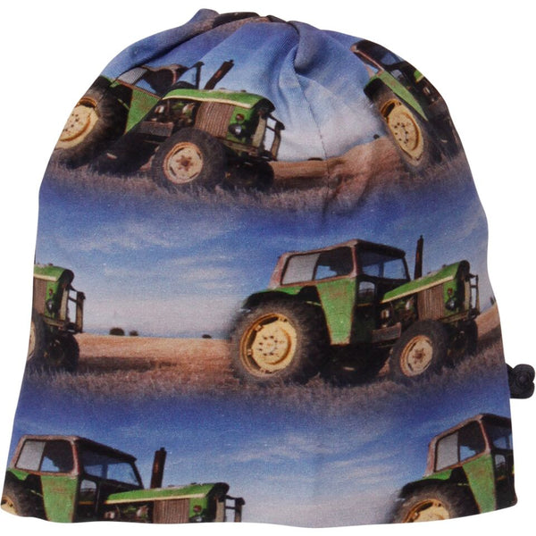 FRED's WORLD by GREEN COTTON organic cotton TRACTOR beanie hat