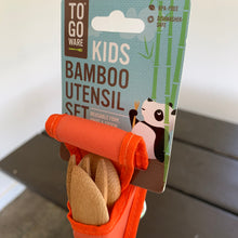 Load image into Gallery viewer, Bamboo Utensil Kit -Child
