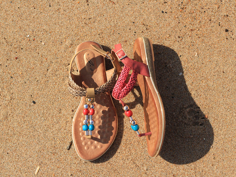 Lunar Arlo at the beach Great summer Sandals