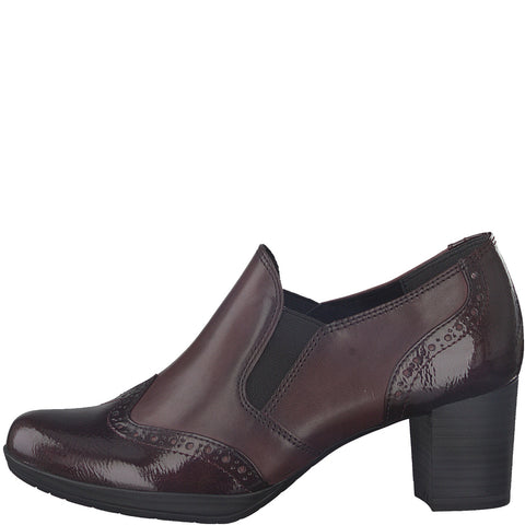 Marco Tozzi Bordeaux Slip on Shoe 24404-21