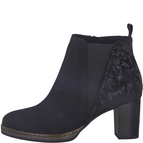 Marco Tozzi - 25358 Dark Navy Ankle Boots