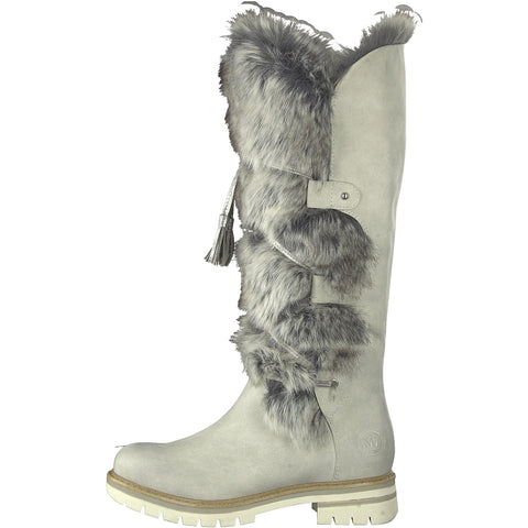 MARCO TOZZI  26635 Ice Long Leg Fur Lined Boot