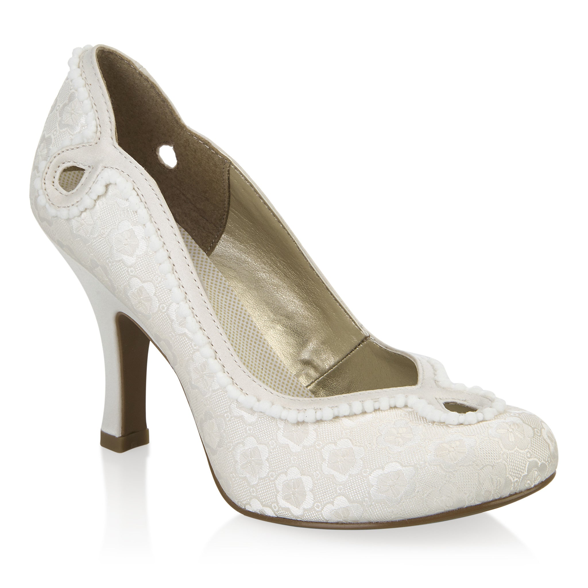 Bright Lunar Tancy Jlh078 Grey Pearl Sandal With Diamonte Trim Comfort Shoes Clothing, Shoes & Accessories