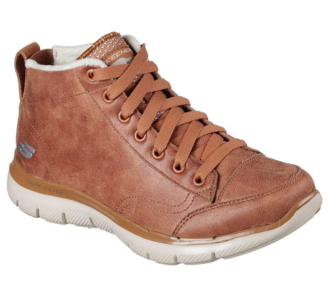 Skechers 12892 FLEX APPEAL 2.0 - WARM WISHES chestnut Boot
