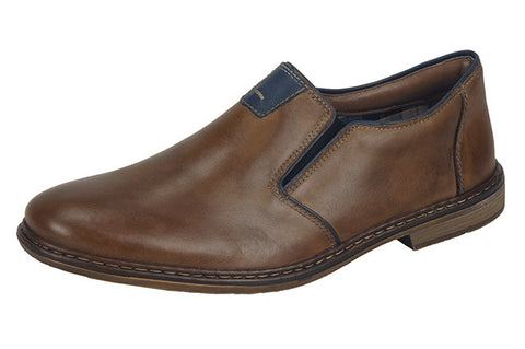 Rieker Mens 13462-25 Toffee Shoes