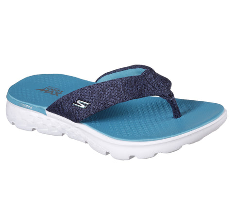 Skechers On The Go Navy Blue Sandals 14656