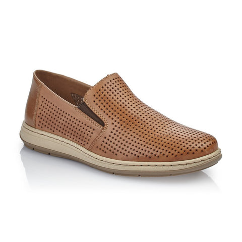 Rieker 17376-25 TOFFEE Slip on shoe for Men