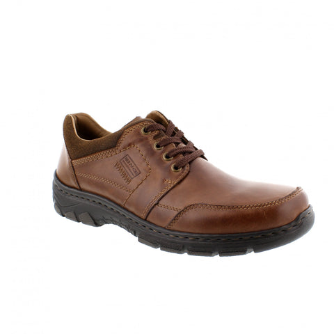 Rieker Mens BROWN 19911-25 Lace up Casual Shoe