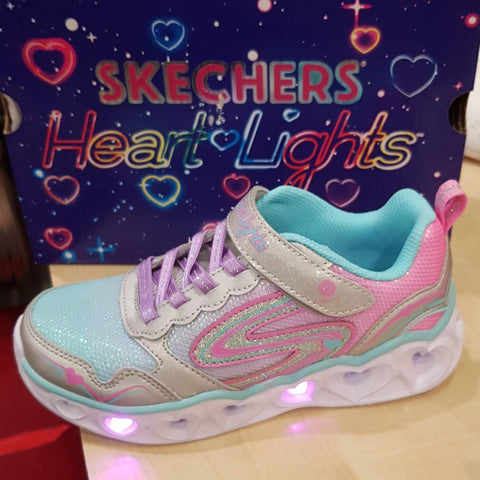 Skechers  S LIGHTS: HEART LIGHTS - LOVE SPARK 20294 OMBRE