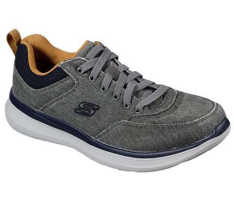 Skechers DELSON 2.0 - KEMPER 210024 GREY Washable Shoe