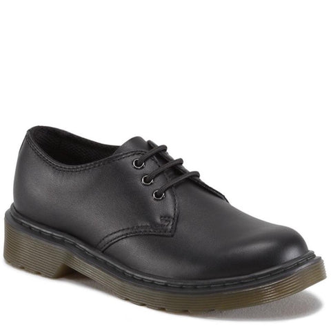 Dr Martens 1461Y black softee leather youths shoe