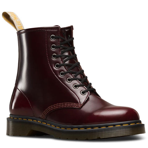 Dr Martens Vegan 1460 Cherry CAMBRIDGE BRUSH