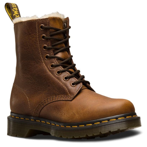 Dr Martens 1460 SERENA FUR LINED Butterscotch