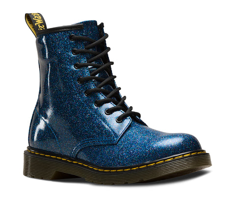 83ca636a67 Dr Martens 1460J 1460Y BLUE blue coated glitter – A.G. Meek