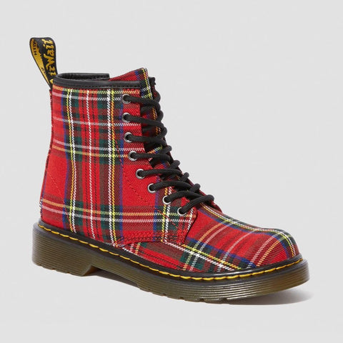 Dr Martens 1460 J/Y Tartan Boots with Laces and Zip 25189615