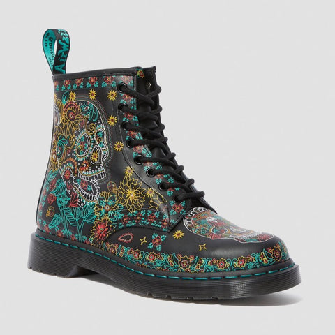 Dr Martens 1460 Skull Day Of The Dead 25377102