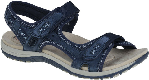 Earth Spirit Frisco NAVY velcro strap Sandal