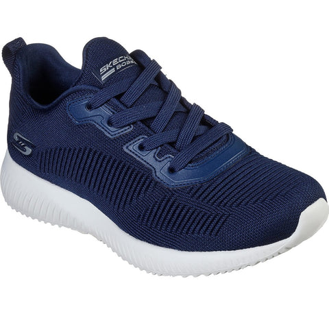 Skechers 32504 NAVY bobs Sport Squad Trainers