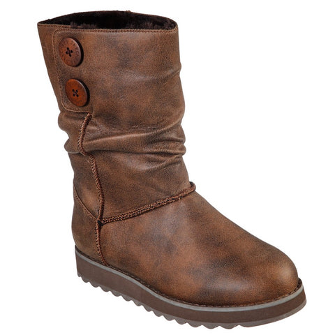 Skechers Ladies 44613 Keepsakes 2.0 Boot Chocolate