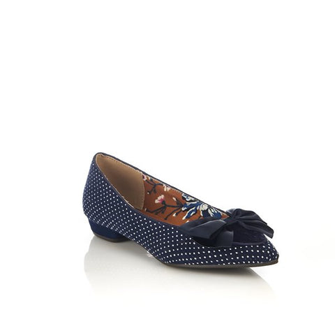 Ruby Shoo Cora NAVY shoe