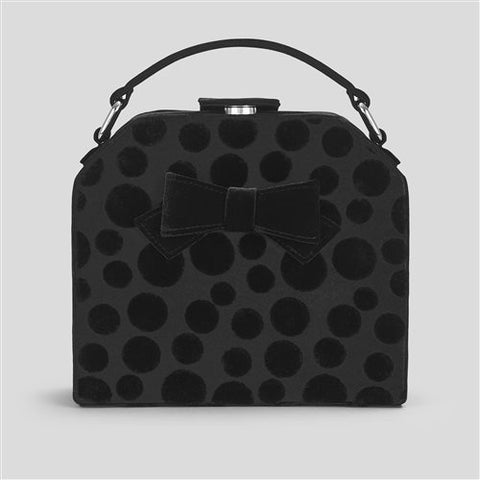 Ruby Shoo Santa Fe BLACK Handbag