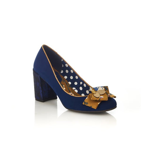Ruby Shoo Pandora NAVY Shoe