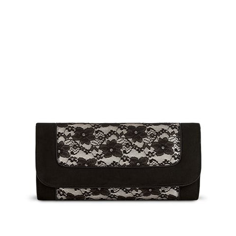 Ruby Shoo Bag Charleston BLACK LACE  to match Delilah Shoe