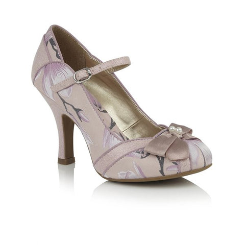 Ruby Shoo Cleo PINK  bar shoe