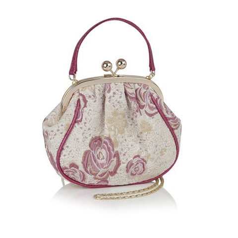 Ruby Shoo Arco FUSCHIA handbag to match Polly
