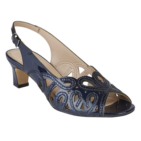 Lotus 50902 Marianna Navy Shiny