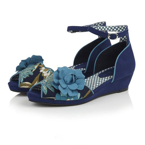 Ruby Shoo Phyllis BLUE shoe