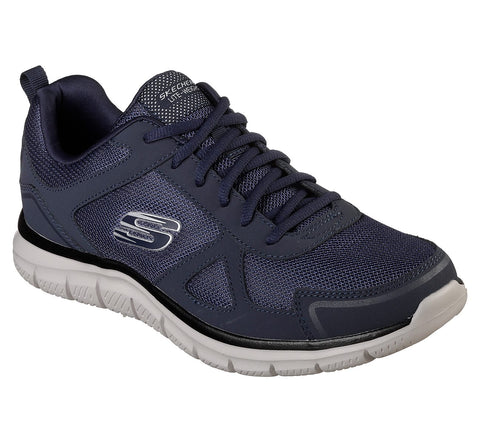 Skechers Track 52631 NAVY Lace up Training Shoe